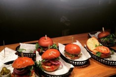 Flaming Cow burgers restaurant Eton Windsor Food & drink at Flaming Cow Eton
